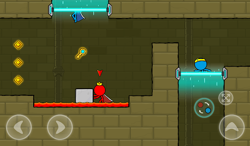 Red and Blue Stickman : Animation Parkour 1.0.6 screenshots 20