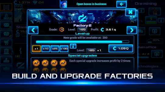 Idle Space Business Tycoon MOD (Unlimited Money) 2