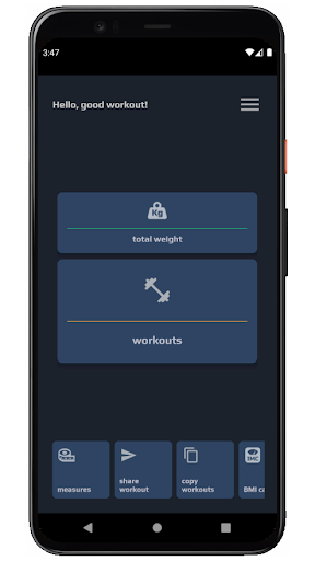 TopWorkout routine and workout sheet android2mod screenshots 1