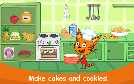 Kid-E-Cats: Cooking for Kids with Three Kittens!  screenshots 17