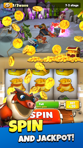 Coin Dragon Master - AFK Slot RPG 1.3.1 screenshots 17