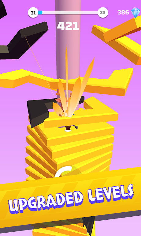 Helix Stack Jump: Fun & Free Addicting Ball Puzzle poster 9