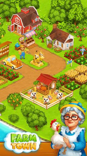 Farm Town: Happy village near small city and town  screenshots 1