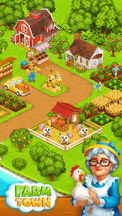 Farm Town: Happy village near small city and town 1