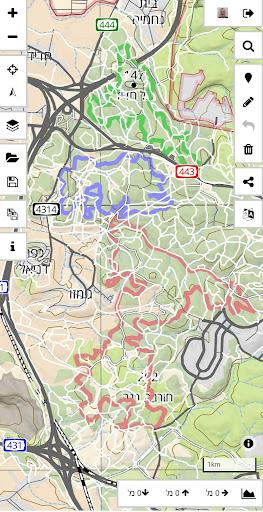 Israel Hiking Map  screenshots 2