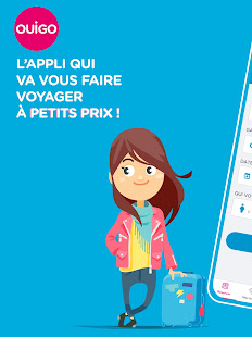 OUIGO u2013 La France u00e0 partir de 10u20ac en TGV ud83dude84 7.1.0 Screenshots 8