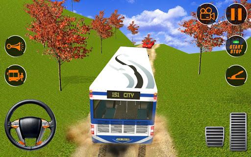 Tour bus hill driver transport  screenshots 2