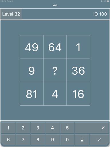 Math Riddles: IQ Test  screenshots 12