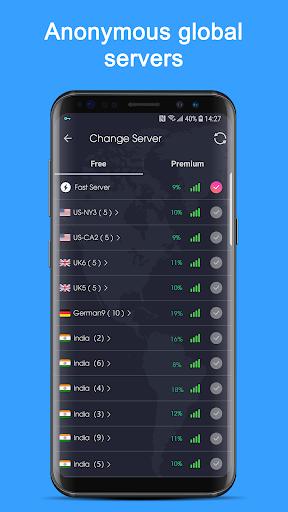 Free VPN Proxy - Super VPN Unblock Master 1.9.0 screenshots 2