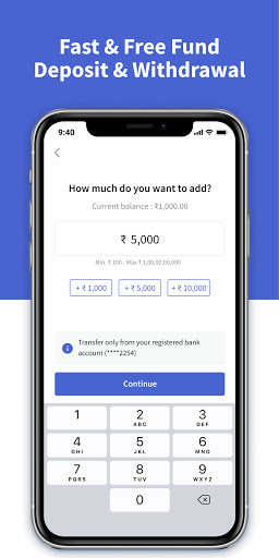 CoinDCX Go: Bitcoin, cryptocurrency investment app screenshots 4