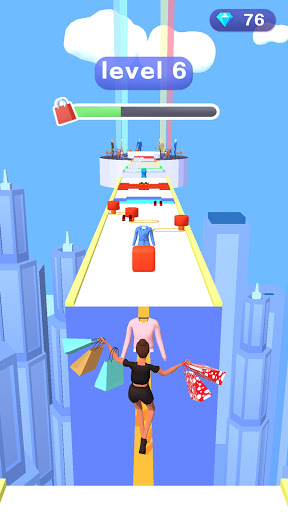 Shopaholic Go - 3D Shopping Lover Rush Run Games apktram screenshots 2