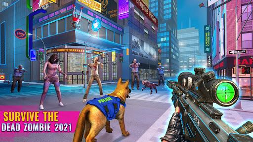 US Police Dog Shopping Mall Crime Chase 2021 Apkfinish screenshots 4