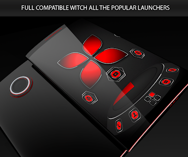 Soft Touch Red Theme 13.0.6 Screenshots 1