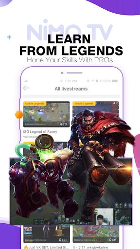 Nimo TV - Live Game Streaming android2mod screenshots 6
