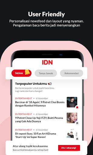 IDN App - Aplikasi Baca Berita Terlengkap 6.10.0 Screenshots 5