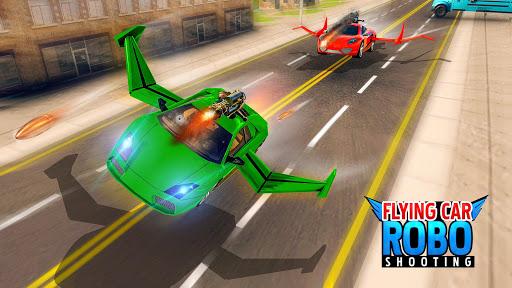 Flying Car Shooting Games - Drive Modern Cars Game 1.7 screenshots 1