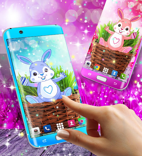Cute bunny live wallpaper for android modavailable screenshots 13