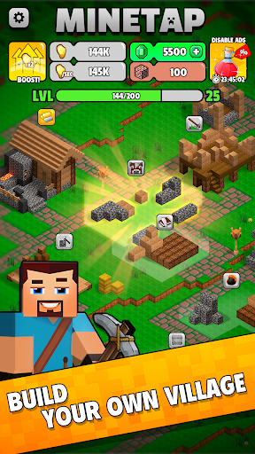Minetap: Epic Clicker! Tap Crafting & mine heroes 1.5.5 screenshots 19