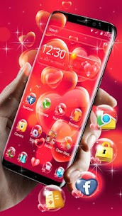 Red Heart Love Theme For Pc – Free Download For Windows 7, 8, 10 Or Mac Os X 1