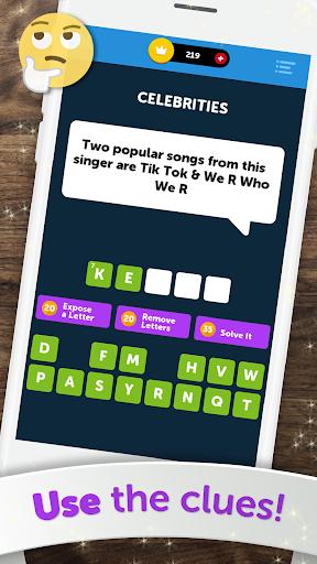 Crossword Quiz - Crossword Puzzle Word Game! 3.85g screenshots 5