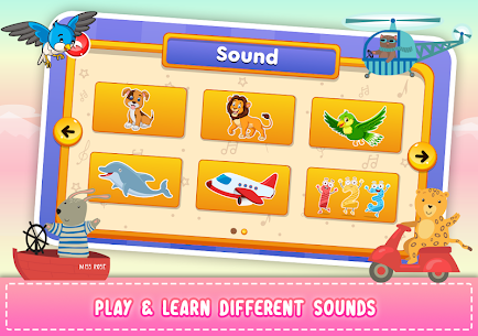 Kids Piano: Animal Sounds & musical Instruments 5
