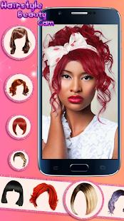 Hairstyle Camera Beauty : Hair Changer Photo Edit 1.2 Screenshots 4