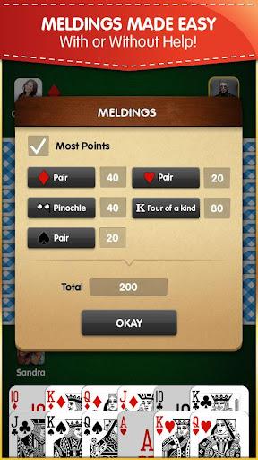 Pinochle (Free, no Ads) android2mod screenshots 2