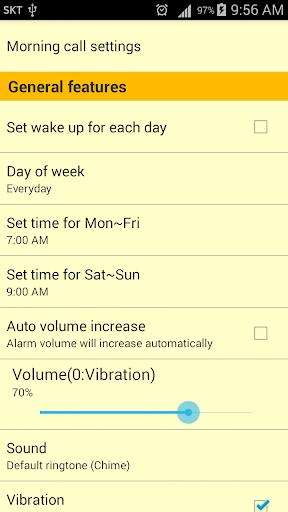 Speaking Alarm Clock apktram screenshots 7