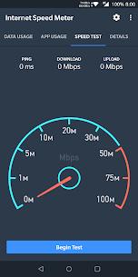 Internet Speed Meter MOD APK by Glitterz Inc 2