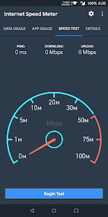 Internet Speed Meter Screenshot