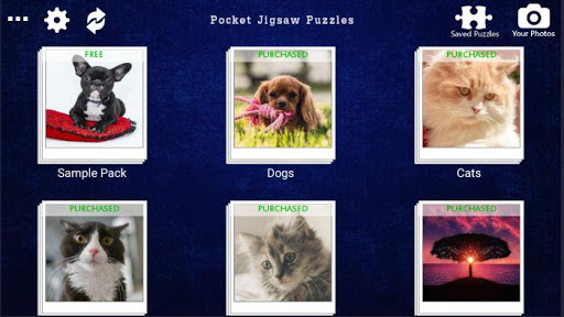 Pocket Jigsaw Puzzles - Puzzle Game 1.0.11 screenshots 1