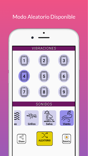 Strong Vibrator with Relaxing Sounds  Screenshots 2
