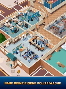 Idle Police Tycoon-Police Game Screenshot