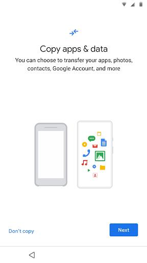 Foto do Data Transfer Tool