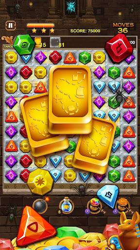 Jewel Ancient: find treasure in Pyramid 2.6.2 screenshots 8