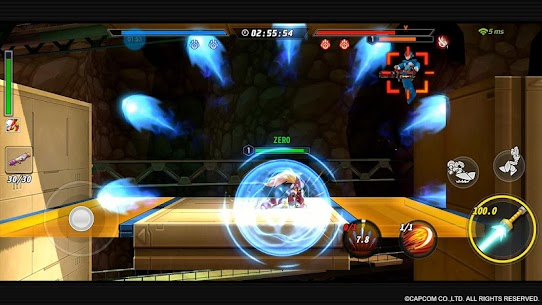 ROCKMAN X DiVE Mod 2.3.2 Apk [Unlimited Health] 3