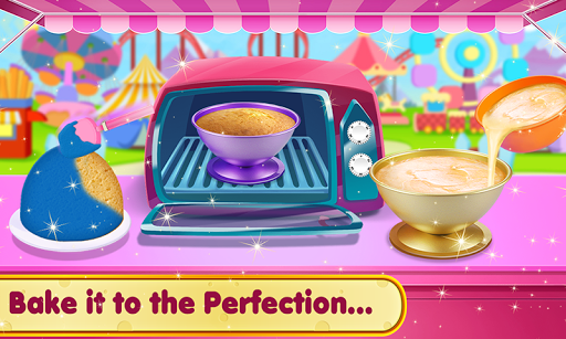 Doll Ice Cream Cake Baking 2019: World Food Maker apktram screenshots 3