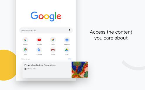 Google Chrome: متصفح سريع وآمن