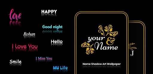Name Shadow Art Wallpaper : Name Art Photo Editor  screenshots 1