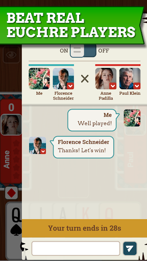 Euchre Free: Classic Card Games For Addict Players 3.7.8 screenshots 5