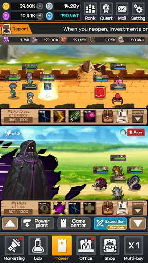 Fantasy world PC bang : Idle RPG & Clicker screenshots 3