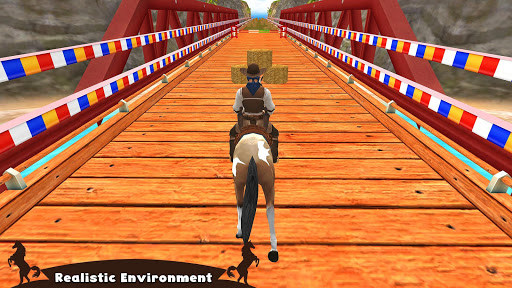 Horse Riding Simulator 3D : Jockey Mobile Game apktram screenshots 1