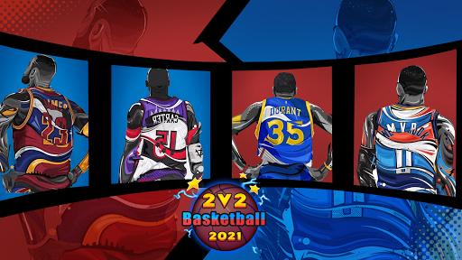 2 VS 2 Basketball 2021  screenshots 4
