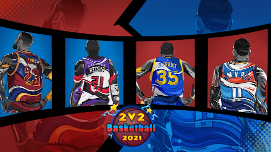 2 VS 2 Basketball 2021 Apk Download NEW 2021 4