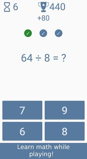 Math games - Brain Training, Math Exercises  screenshots 1