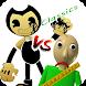 Baldi's Basic vs Bendy in Minigames 2