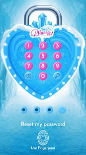 Winter Princess Diary (with lock or fingerprint)