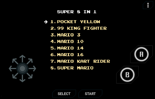 Super City Mario 8 in 1 Game Collections  screenshots 1