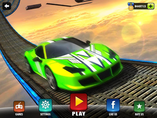 Impossible Stunt Car Tracks 3D modavailable screenshots 11