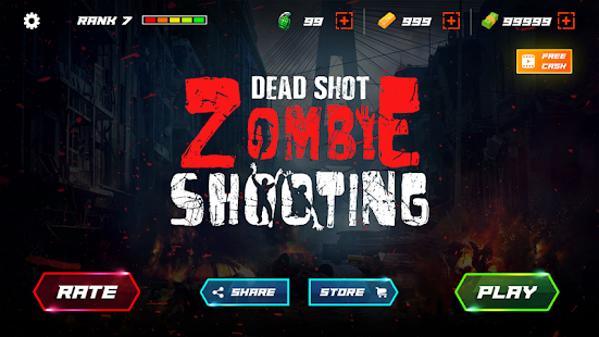 DEAD SHOT: Zombie Shooter FPS 3D Screenshot